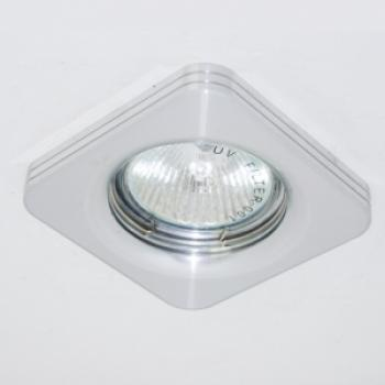 Светильник потолочный, MR16 50W G5,3 матовый хром, алюминий, DL154