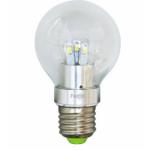 Лампа светодиодная, 10LED(5W) 230V E27 6400K, LB-42, шар A60