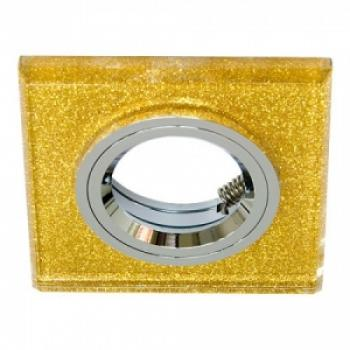 Светильник потолочный, MR16 G5.3 мерцающее золото, золото, 8170-2