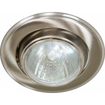 Светильник потолочный, MR16 G5.3 титан-хром, 301-MR16
