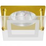 Светильник потолочный, MR16 G5.3 золото, BS3182