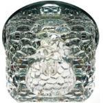 Светильник декоративный JD185 JCD9 35W G9 серый, хром