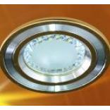 Светильник встраиваемый со светодиодом, 1LED, 1W, 50*26mm, белый,G100