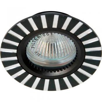 Светильник потолочный, MR16 G5.3 серебро, GS-M364S