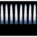 Гирлянда 6V 80 LED белый, 10 LED/1колба, 2.1 м, 1.2W, 41mA, с контроллером и 6V-адаптером, IP20, шнур 3м 0.2мм, CL36