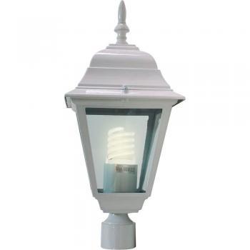 Светильник садово-парковый, 60W 230V E27 белый, 4103