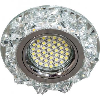 Светильник встраиваемый 15LED*2835 SMD MR16 12V 50W G5.3 прозрачный, прозрачный, CD2917