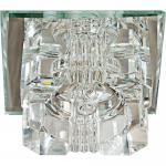 Светильник встраиваемый со светодиодной RGB подсветкой 2.5W JCD9 35 W 230V/50Hz G9, прозрачный, прозрачный, JD61
