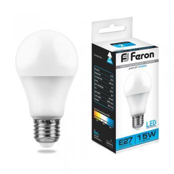Лампа светодиодная, (15W) 230V E27 6400K, LB-94