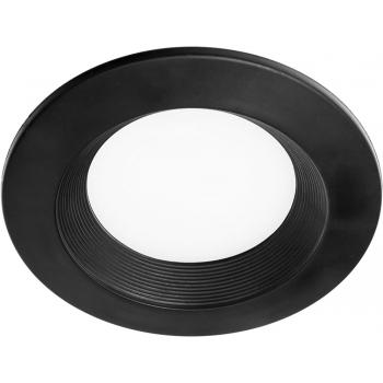 Светильник встраиваемый светодиодный 3W 4000К, черный, AL525