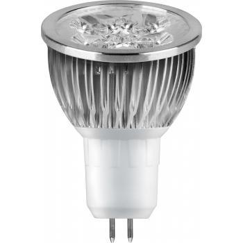 Лампа светодиодная, 4LED(4W) 230V G5.3 4000K, LB-14