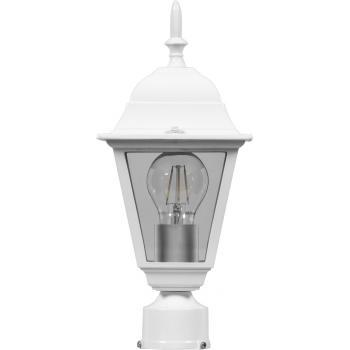 Светильник садово-парковый, 100W 230V E27 белый, 4203