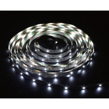 Лента светодиодная, 120SMD(3528)/m 9.6W/m 12V 5m белый на белом, LS613