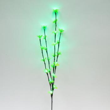 Ветка 220-240V 24 LED (зеленый) IP20, 80 см, LD207B