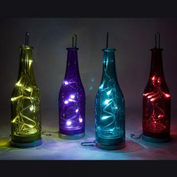 Световая фигура 4,5V 8 LED цвет свечения: белый, IP20 24 см, LT049