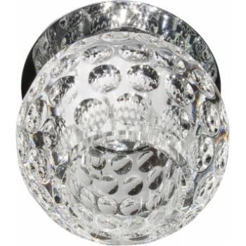 Светильник потолочный, JCD9 G9 с прозрачным стеклом, хром, C1033S