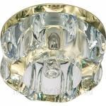 Светильник потолочный, JCD9 35W G9 прозрачный,золото, JD159