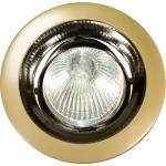 Светильник потолочный, MR16 G5.3 жемчужное золото-титан, DL2009