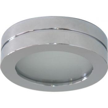 Светильник потолочный, MR16 G5.3 с матовым стеклом, алюминий, DL208S
