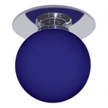 Светильник потолочный, JC G4.0 хром синий, 1531