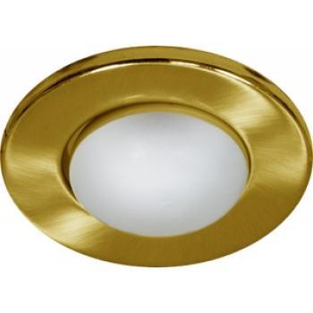 Светильник потолочный, R80 Е27 золото, 1715