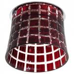 Светильник потолочный, JCD9 35W G9 с синим стеклом, хром с лампой, CD2321