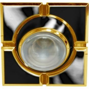 Светильник потолочный, R50 E14 черный-золото, 098-R50-S