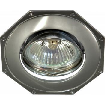 Светильник потолочный, MR16 G5.3 серый-хром, 305T-MR16