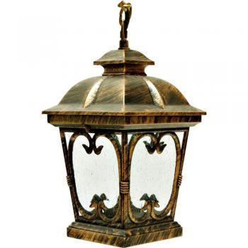 Светильник садово-парковый, 100W 230V E27 черное золото, PL133