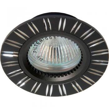 Светильник потолочный, MR16 G5.3 черный, GS-M393BK