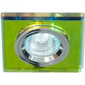Светильник потолочный, MR16 G5.3 серебро, серебро, 8170-2