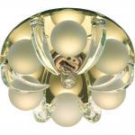 Светильник потолочный, JCD9 G9 c прозрачный-матовый, желтый, с лампой, CD2530