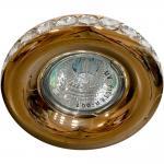 Светильник потолочный MR16 MAX50W 12V G5.3, прозрачный, хром, DL203-C