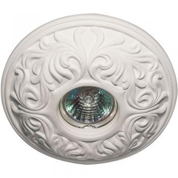 Светильник потолочный MR16/Max 50W 12V G5.3, белый, С3030