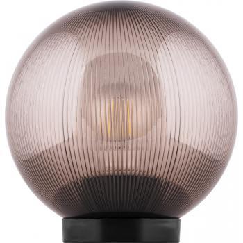 Светильник садово-парковый Feron НТУ 01-60-255 шар ПМАА E27 230V, призма дымчатый