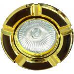 Светильник потолочный, MR16 G5.3 черный-золото, 098Т-MR16