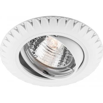 Светильник встраиваемый Feron DL6051 потолочный MR16 G5.3 белый поворотный