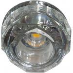 Светильник потолочный 10W 220V/50Hz 600Lm 3000K прозрачный, хром, JD190