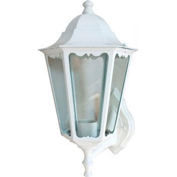 Светильник садово-парковый, 100W 230V E27 белый, 6201