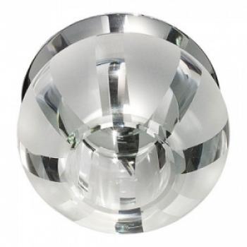 Светильник потолочный, JCD9 G9 с прозрачным стеклом, хром, C1034S