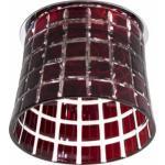 Светильник потолочный, JCD9 35W G9 с красным стеклом, хром с лампой, CD2321