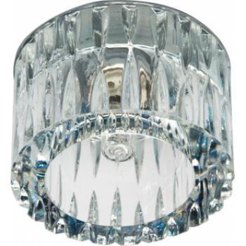 Светильник потолочный, JCD9 35W G9 прозрачный,хром, JD184