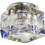 Светильник потолочный, JCD G9 с многоцветным стеклом, хром, с лампой, JD64-MC