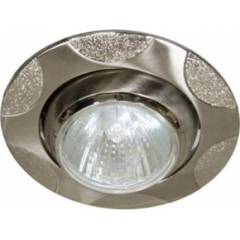 Светильник потолочный, MR16 G5.3 титан-серебро, 156Т-MR16