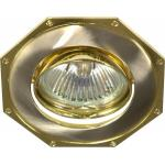 Светильник потолочный, MR16 G5.3 титан-золото, 305T-MR16