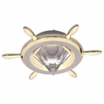 Светильник потолочный, MR16 G5.3 титан-золото, A70