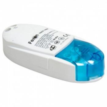 Трансформатор электронный понижающий с защитой, 230V/12V 105W синий, TRA37