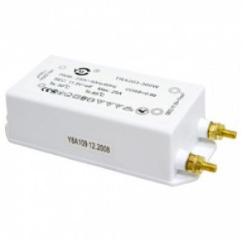 Трансформатор электронный понижающий, 230V/12V 400W, TRA203