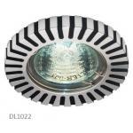 Светильник потолочный, MR16 G5.3 черный-алюминий,DL1022