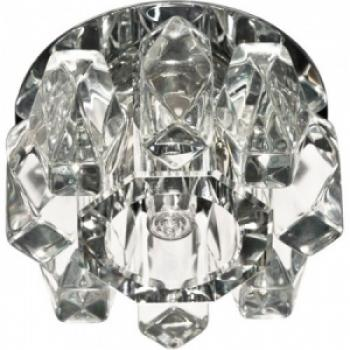 Светильник декоративный JD186 JCD9 35W G9 прозрачный прозрачный, хром